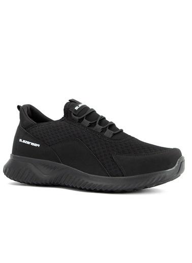 Slazenger Slazenger Ahab Sneaker Unisex Ayakkabı  Siyah